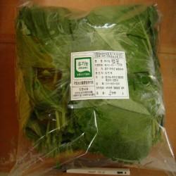 [깻잎500g] 연하고 향긋한 유기농 깻잎